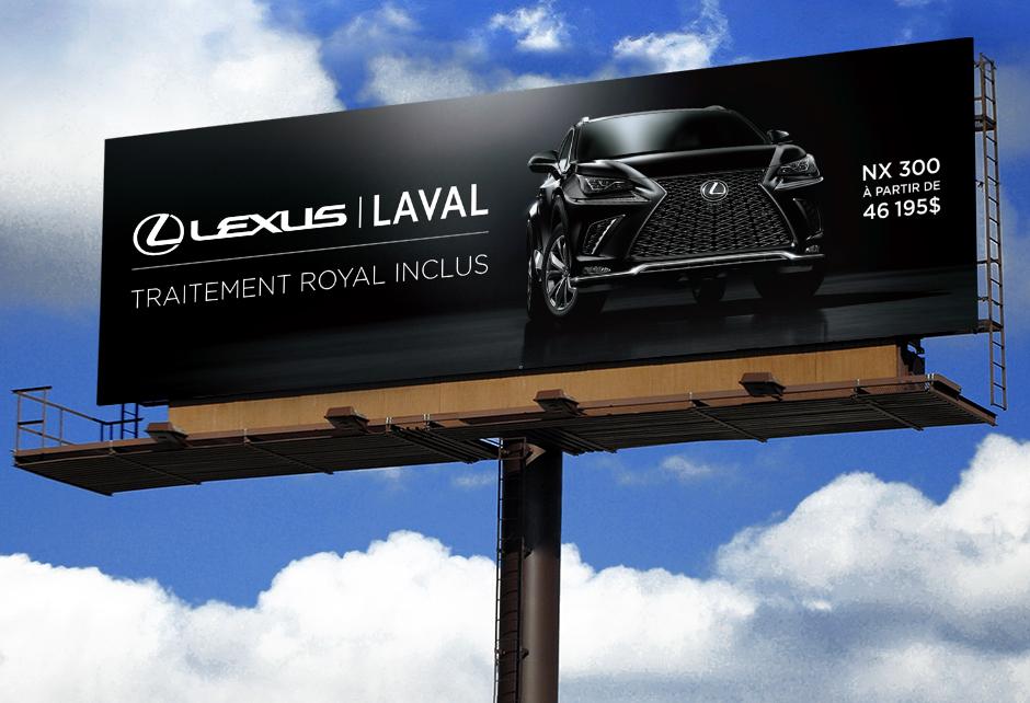 Lexus – Traditionnelle