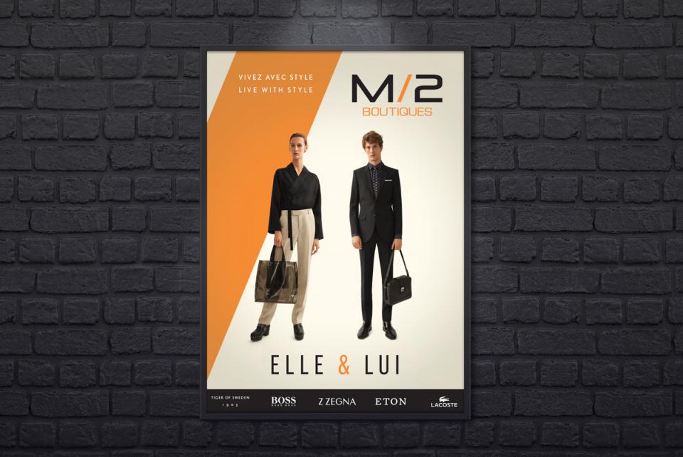 M/2 Boutiques – Affiche 1