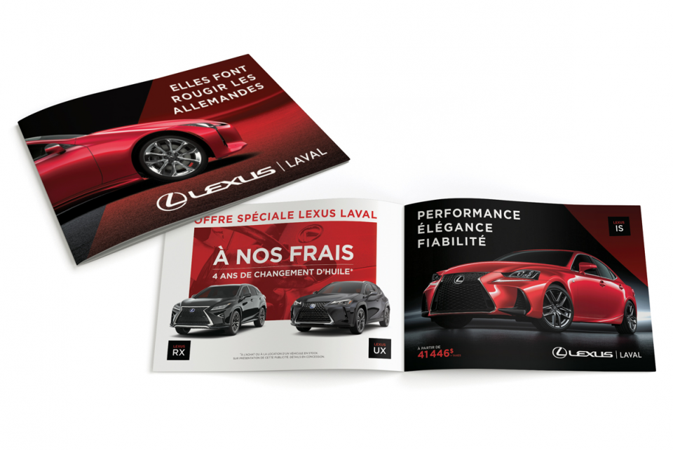 Lexus Laval – Brochure
