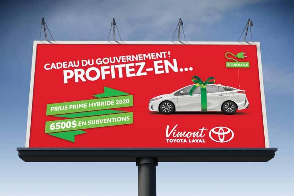 Vimont Toyota Laval – Cadeau du Gouvernement